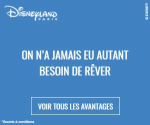 Billets d'entrée pour Disneyland Paris
